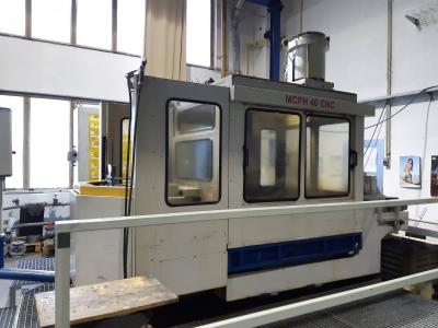 CNC frézka MCFH 40
