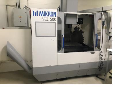CNC Obráběcí centrum MIKRON VCE 500