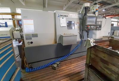 CNC Soustruh OKUMA LB400EX s poháněnými nástroji