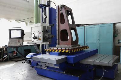 Horizontální vyvrtávačka WH 10 CNC