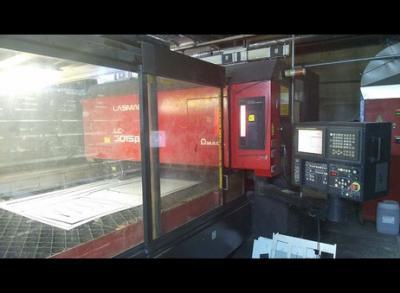 Řezačka - laserový řezací stroj Amada LCV-3015 Beta III na ND